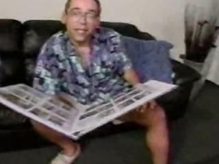 Porn Tube of Busty Milf Threesome