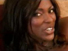 Busty Ebony Milf In Hot Anal Action