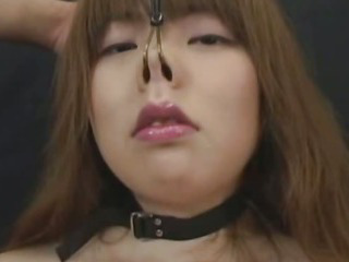 Porno Video of Japanese Sucks With A Large Open Mouth Gag