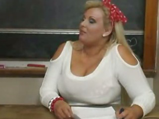 Porno Video of Bbw Kirsten Teacher Riding Dick
