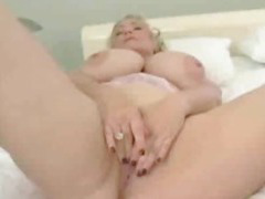 BBW Superstar Samantha 38G Plays with her Dildo