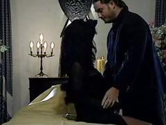 Karma Rosenberg enjoy in stockings