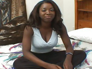 Porn Tube of Big Tits Ebony Suck Cock And Play Her Pussy