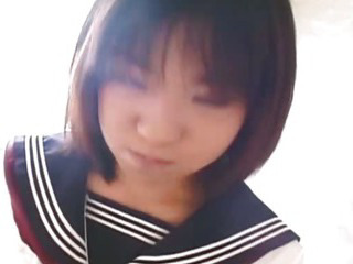 Porno Video of Pretty Japanese Schoolgirl Cumfaced Uncensored