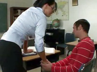 Porno Video of Teacher Eaten On Desk