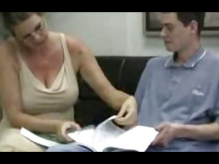 Porno Video of The Jerking Tutor