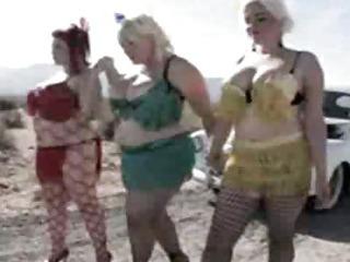 Porno Video of Vouluptous Biker Babes With Bunny De La Cruz And April