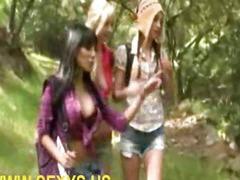 Lesbian hardcore action eating pussy