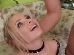 Sharka Blue is one blonde anal addict at High Def Ass Fucking