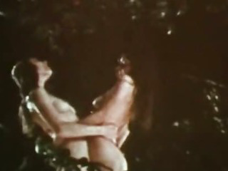 Porn Tube of Vintage Erotica 1970s - Hairy & All-natural Retro Lesbians