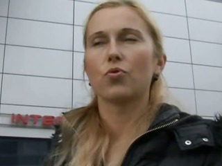 Porn Tube of Czech Streets - Blonde Milf Picked Up On Street