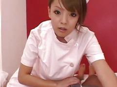 Asian huge tits nurse fuck in uniformed