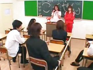 Porn Tube of Schoolgirl Techear Classroom