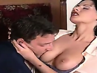 Porn Tube of Hungarian Milf Rides A Thick Cock