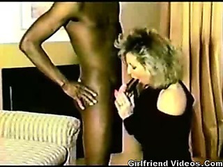 Porno Video of Retro Interracial Fuck Tape