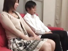 Mother and son watching porn together experiment - 5