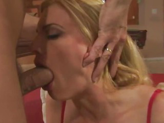 Porno Video of Mature Blonde Milf Takes A Huge Cock