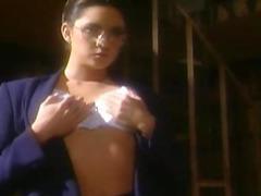 Stephanie Swift fingering in nylon