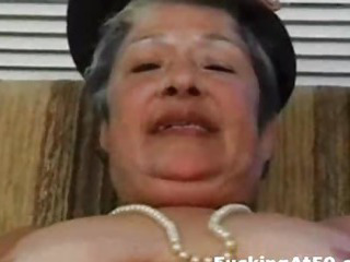 Porno Video of Horny Granny Masturbate Till Cum And Get Hardcore Fucked By Badass