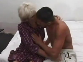 Porn Tube of Grandma Gets Deep Fucked By A Young Cock