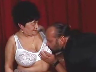 Porn Tube of Chunky Granny Wants A Hard Cock