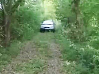 Porno Video of Granny In The Forest