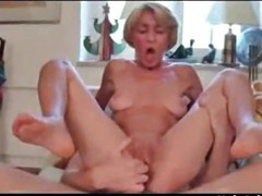 Thin  Granny Fucks More