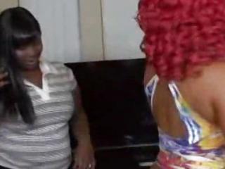 Porno Video of Threesome Big Ass Ebony
