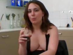 Nina, french BBW analfucked
