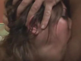 Porno Video of Extreme Deep Throat Blowjob From Hot Babe