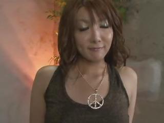 Porno Video of Redhead Asian Chick Yuna Hirose Gagging A Throbbing Cock And Screwed