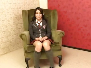 Sex Movie of Ayano Umemiya Masturbates In Front Of An Audience