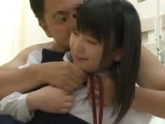Asian schoolgirl visits male friend in hospital