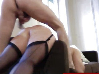 Porno Video of Sexy European Mature In Stockings Gets Fucked Doggystyle