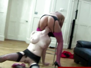Porno Video of Mature In Stockings In Meange A Trois