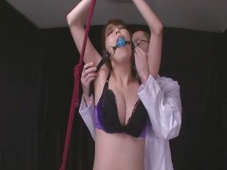 Porno Video of Gagged Akari Asagiri Has An Orgasm From A Vibrator