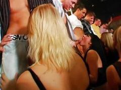Shameless girls sucking dicks in public
