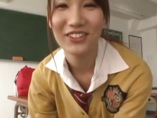 Porno Video of Japanese Schoolgirl Has Sex