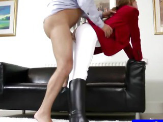 Porno Video of Teen Amateur In Tights Getting Slammed