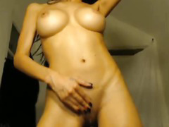 Smoking Hot Busty Babe Makes her Pussy Creamy Wet