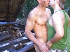 Hunk Beefy Gay Having Great Sex