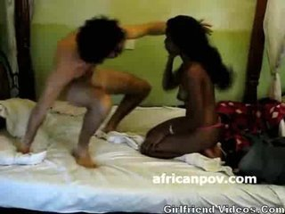 Porn Tube of African Blowjob On Hid Cam