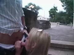 Amazing Blonde In REAL PUBLIC SEX Hot Video
