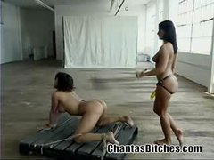 Ava Devine Gets Owned by Sandra Romain Rough Scene