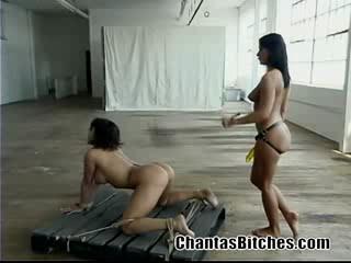 Porno Video of Ava Devine Gets Owned By Sandra Romain Rough Scene