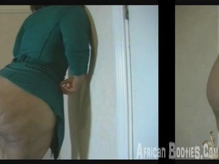 Porno Video of Big African Booty 1