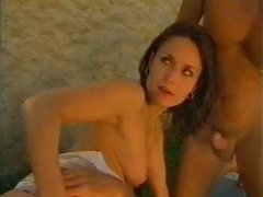 Daniella Rush Double anal gangbang
