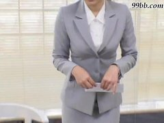 Japanese BDSM - Office girl Gang Bang