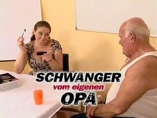 Porn Tube of Grandpa Mireck And Pregnant Slut