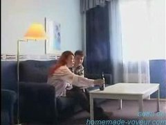 Amateur -  Young Guy Fucking Mature Redhead